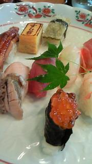 お寿司は、塩竃前