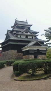 豪雨の松江市