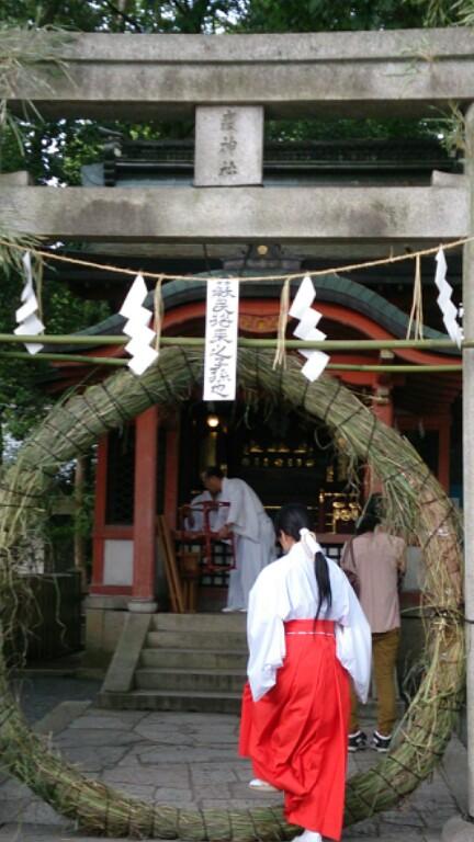 祇園祭疫神社夏越祓