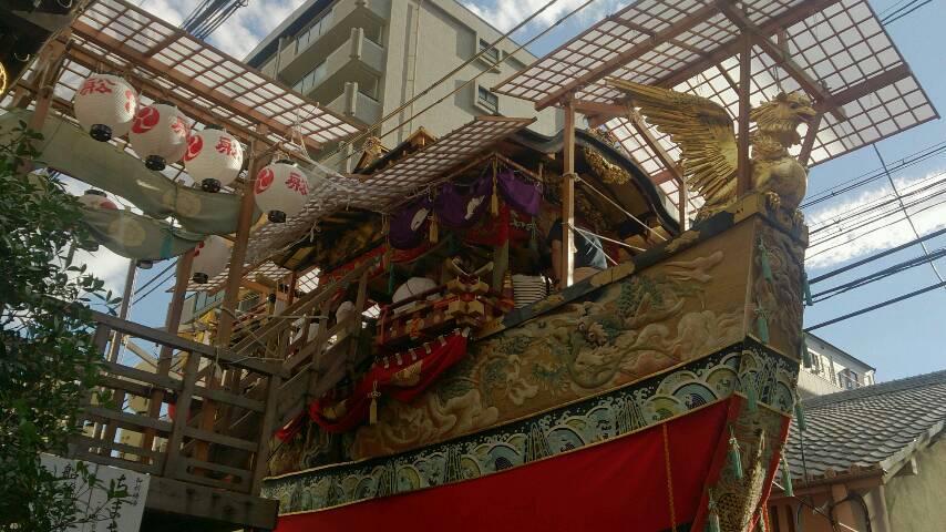 祇園祭ですな〜。