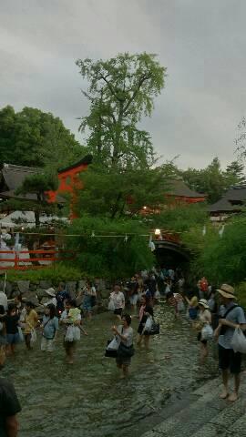 下鴨神社の足つけ神事
