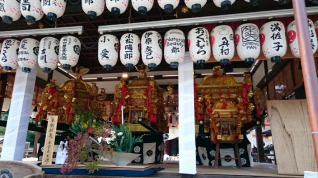 祇園祭前祭、鉾建て